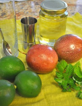 Passion Fruit Mojito - Ingredients