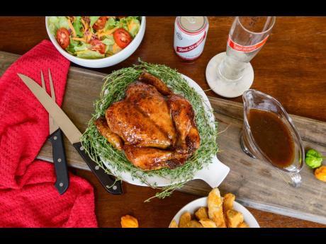 Red Stripe Beer Roast Chicken