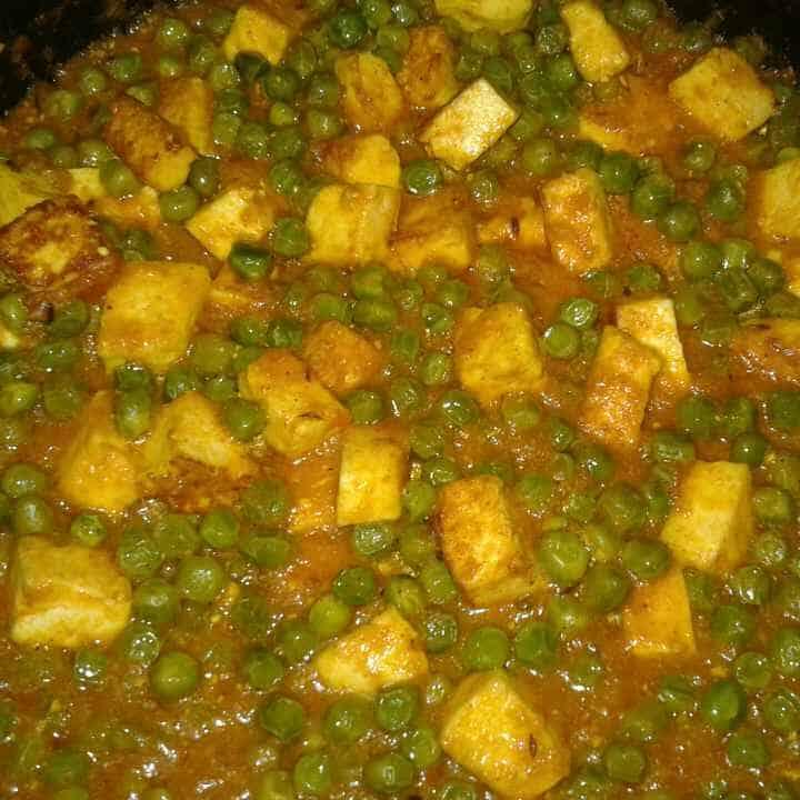 Malai Matar Paneer recipes in hindi