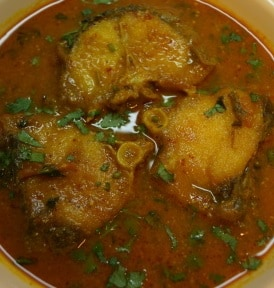 Fish Curry Bihari Style