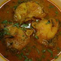 Rohu Fish Curry recipe in Hindi - Bihari (रोहू फिश करी)