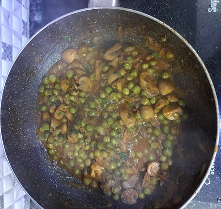 Peas-Mushroom-recipes