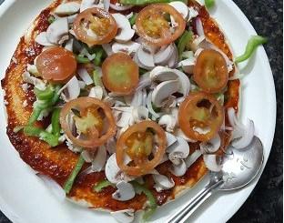 Veg Pizza Recipe in Hindi