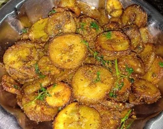 Kachche Kele Ki Sabzi Recipe1