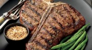 Ginger Porterhouse Steaks