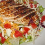 %name   Applebees Low Fat Blackened Chicken Salad   RecipesNow.com