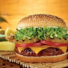 Red Robin's Burnin' Love Gourmet Burger
