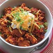 %name   One Pot Meatball and Rice Chili   RecipesNow.com