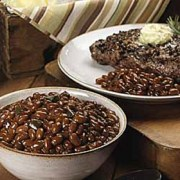 Peppercorn Rib Eyes With Blue Cheese
