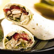 %name   Mediterranean Grilled Chicken Wrap   RecipesNow.com