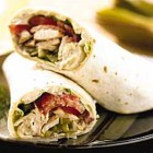 Chicken Wrap With California Dried Plums and Apples