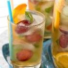 %name   Metros Sparkling Sangria Punch   RecipesNow.com