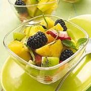 Lime-Ginger Grilled Fruit