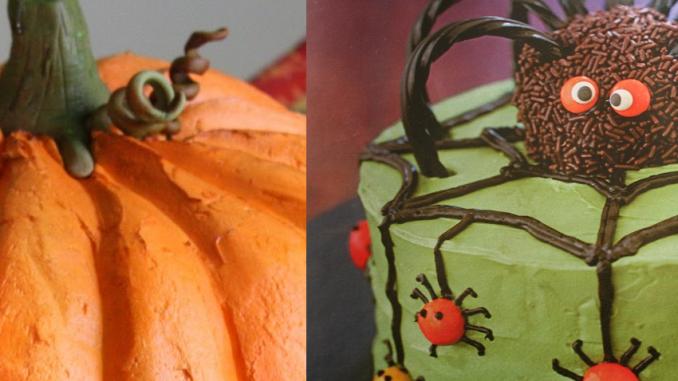 Halloween Cakes - Centerpiece & Dessert
