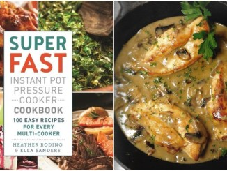 Super Fast Instant Pot Pressure Cooker Cookbook - Review