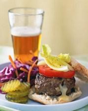 %name   Cheddar Stuffed Buffalo Burgers   RecipesNow.com