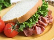 Wonder Fat-Free Turkey and Swiss Sandwich