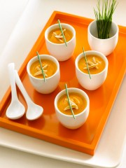 Sweet Potato Almond Chipotle Soup