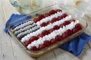 %name   Stars and Stripes Cheesecake   RecipesNow.com