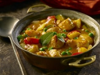 Vindaloo Chicken and Potato Stew
