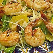 %name   Sicilian Salad with Grilled Shrimp   RecipesNow.com