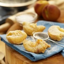 Ontario Peach Fritters