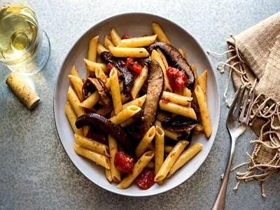 Portobello Mushroom Pasta