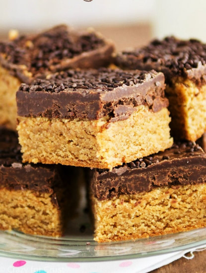 PEANUT BUTTER COOKIE FUDGE BARS RECIPE