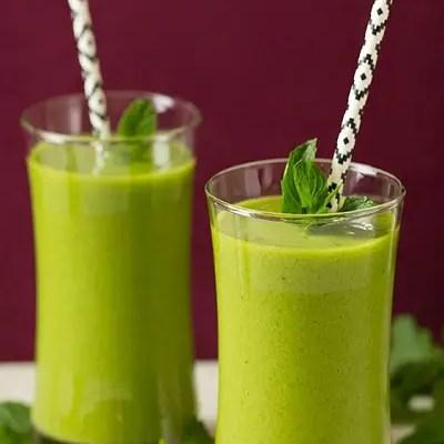 Mango Green Tea Smoothie Recipe