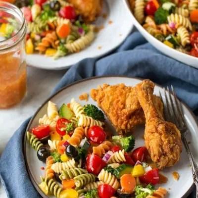 Pasta Salad Veggie