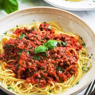 Spaghetti Sauce Homemade