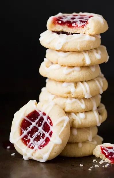 thumbprint cookies peanut butter