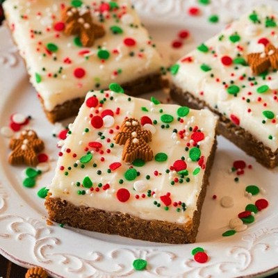 Easy Gingerbread Bars