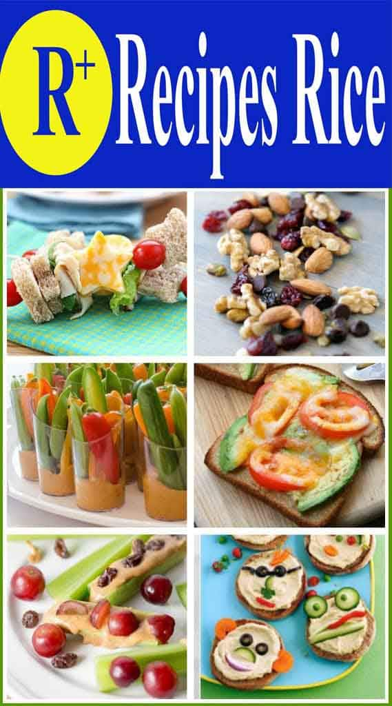 healthy kids snack ideas