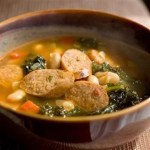 Bean, Sausage and Kale Soup