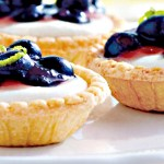 Mini Blueberry-Lime Tarts