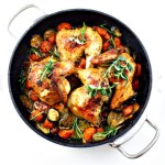 Roasted Chicken and Vegetable Melody (Cuisinart Convection Steam Oven Recipe)