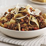 Bolognese Sauce with Pancetta, Porcini, and Rosemary (Slow-Cooker)