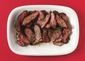 Grilled Leg of Lamb with Ancho Chili Marinade