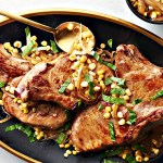 whiskey pork chops