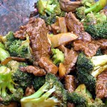 STIR FRIED BEEF AND BROCCOLI
