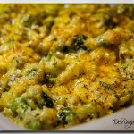 The Best Cauliflower & Broccoli Cheese Casserole