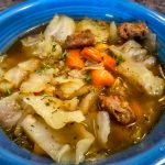 Cabbage, Sausage & Potato Soup ~ (Mini Instant Pot)