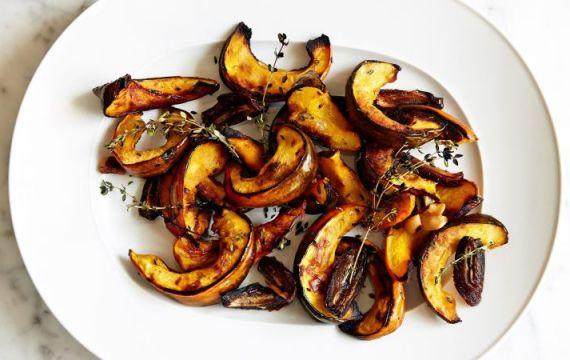 Squash Dates Garlic & Thyme