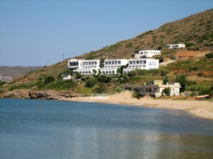 the Island of Andros, Greece