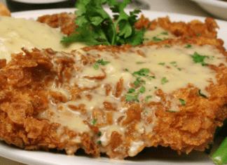 fried corn flake chicken