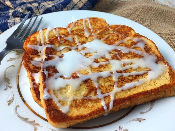 Easy recipe for cinnamon french toast