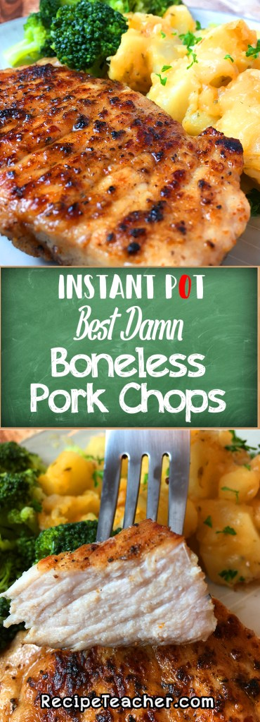 How Long To Cook Instant Pot Frozen Pork Chops