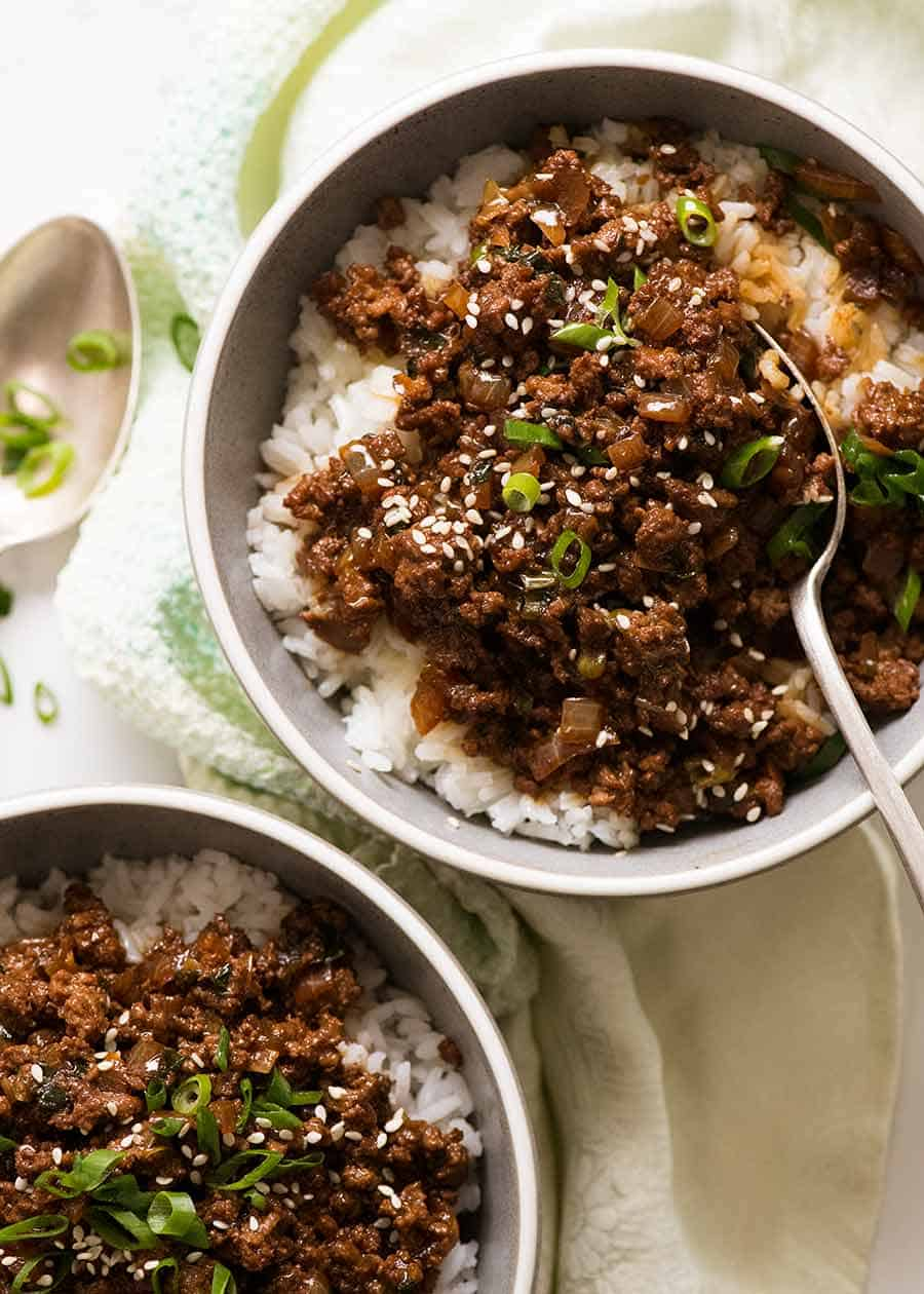 Asian Beef Bowls (Super Quick!)   RecipeTin Eats