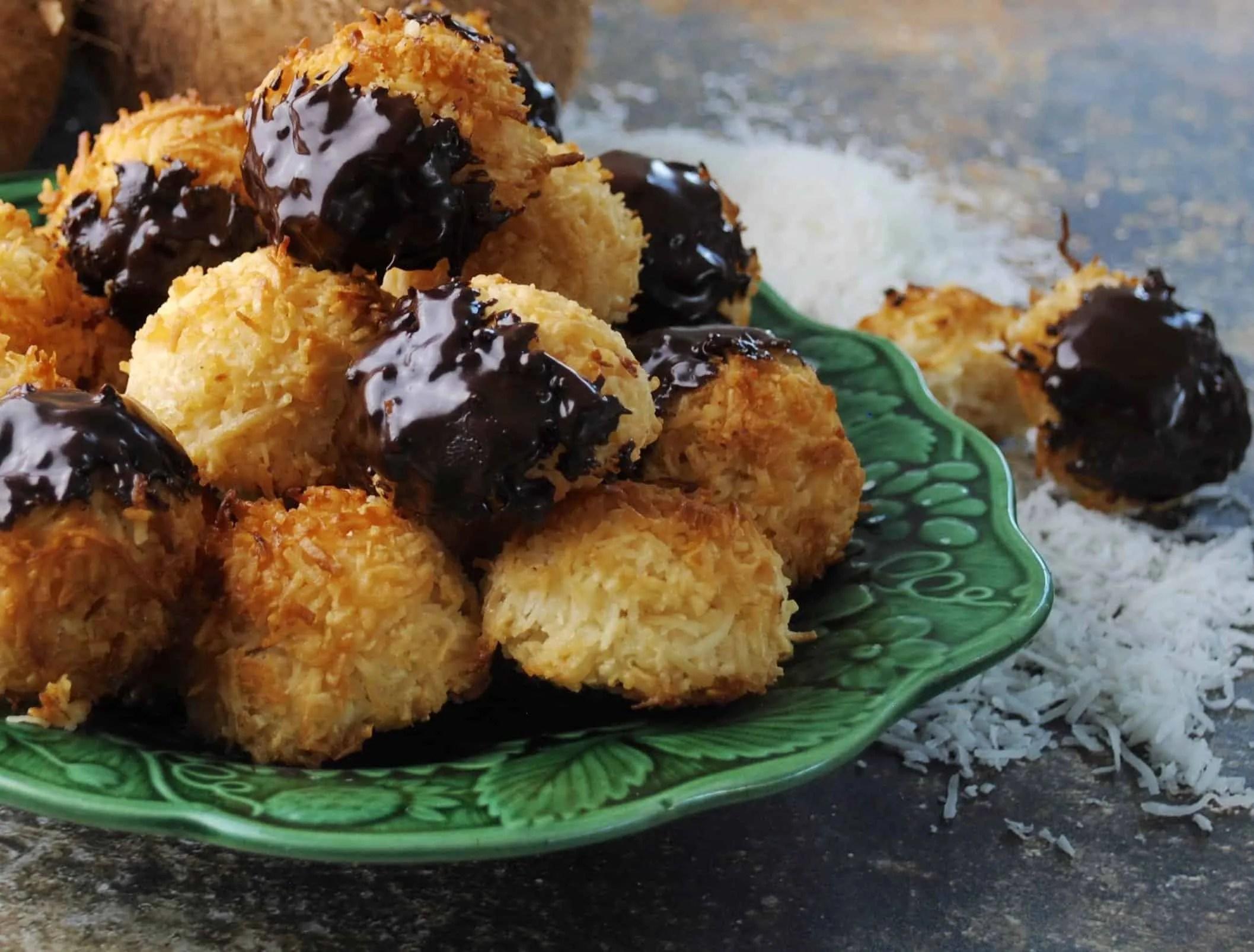 Condensed Milk Coconut Macaroons